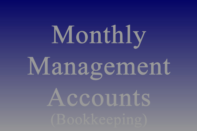 Monthly Management Accounts (Bookkeeping)