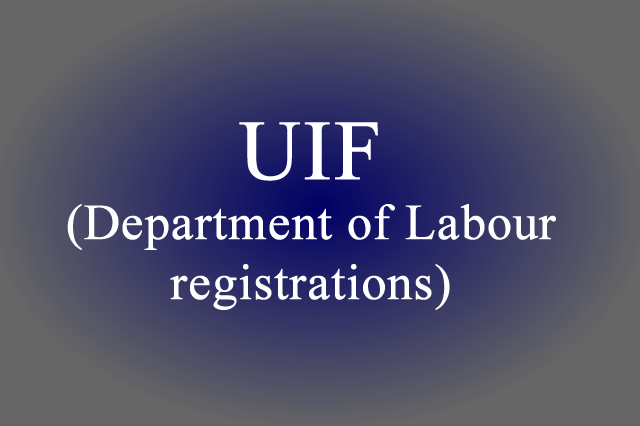 UIF (Department of Labour registrations)