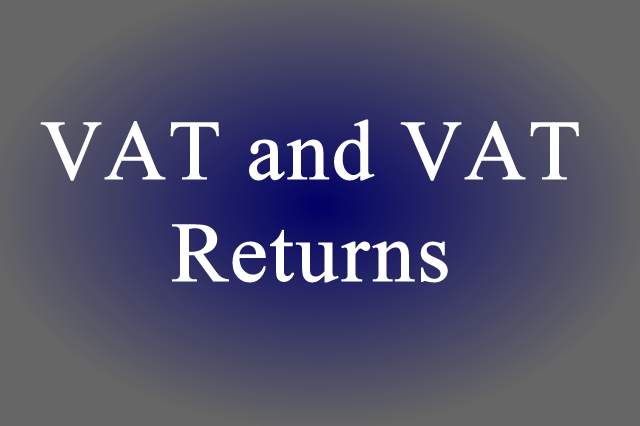 VAT and VAT Returns