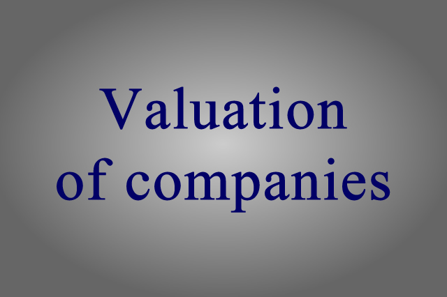 Valuation of companies